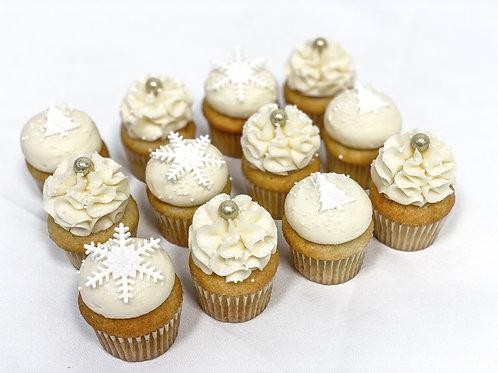 NOËL BLANC: Minis cupcakes