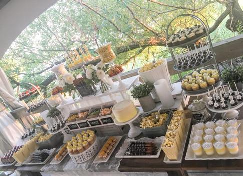 Table sucrée zeste citron