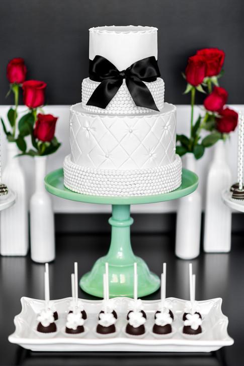 Gâteau mariage Kate Spade