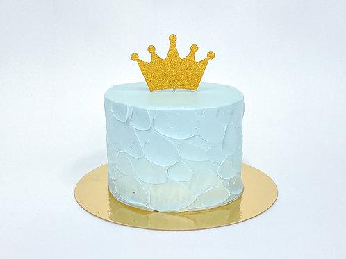 "GÂTEAU ""Smash the Cake"" bleu"