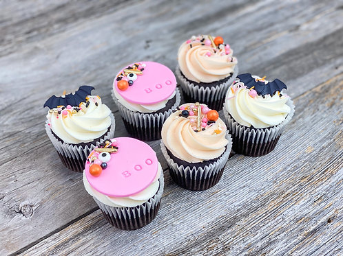 Cupcakes SPOOKY X6