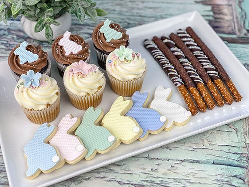 """LA BOITE SUCRÉE """"cupcakes réguliers"""""""