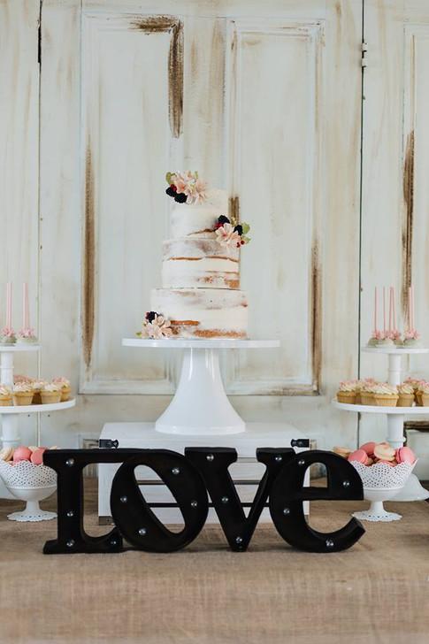 Gâteau naked cake