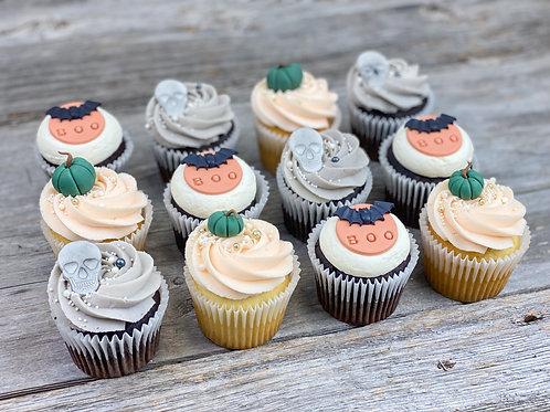 Cupcakes DOUX HALLOWEEN X12