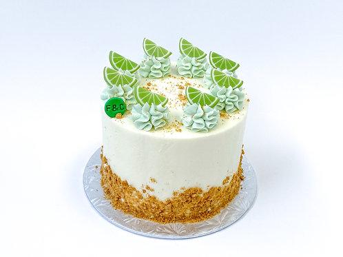 """Gâteau gourmand """"Tarte à la lime"""""""