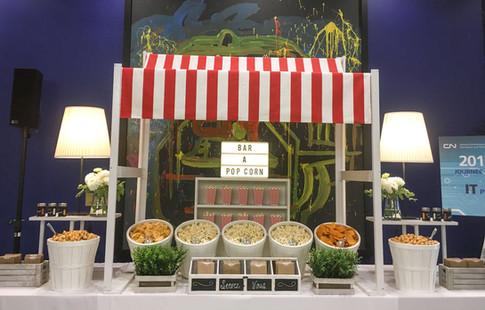 Bar à chips et popcorn