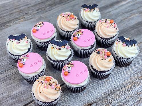 Cupcakes SPOOKY X12