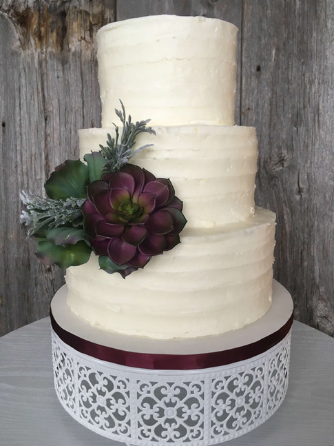 Gâteau glaçage