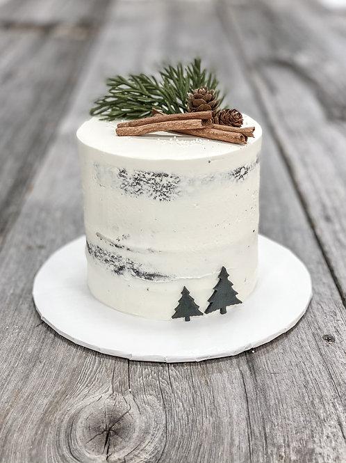 RUSTIQUE/MODERNE: Gâteau