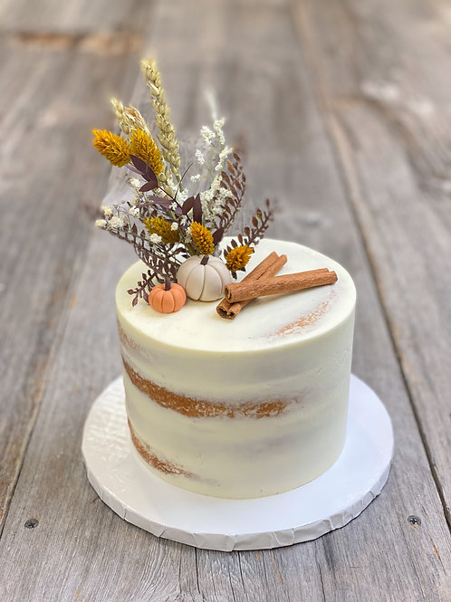 Gâteau Citrouille Épicée