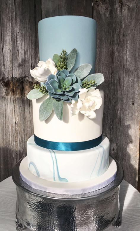 Gâteau contemporain