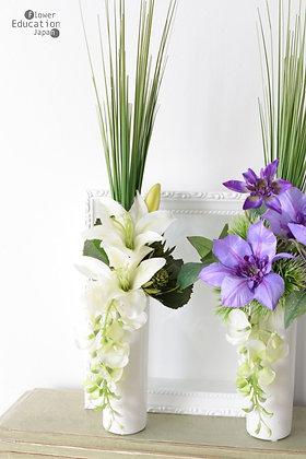 仏花 リアン(花器付き) 2個