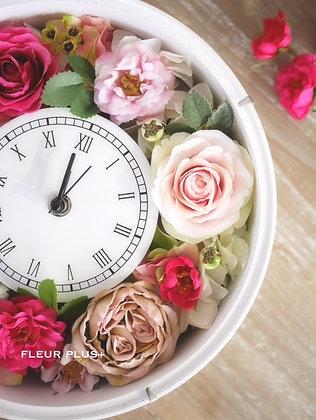 花時計 FLOWER CLOCK・アーティフィシャルフラワー