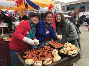 Con histórica arenga de Manuel Rodríguez alumnas recuerdan lucha por Independencia de Chile
