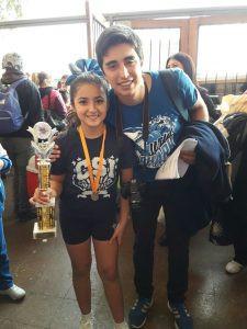 Selección  de  Cheerleaders destacan en campeonato