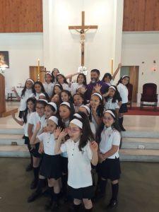 Con una conmovedora eucaristía nuestro colegio puso fin al Año Escolar 2018