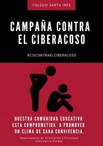En nuestro colegio estamos contra el #CiberAcoso