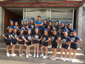 Cheerleaders nos representaron en campeonato de la Región Metropolitana