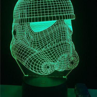 LAMPE STAR WARS - STORM TROOPER