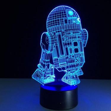 LAMPE STAR WARS - R2 D2