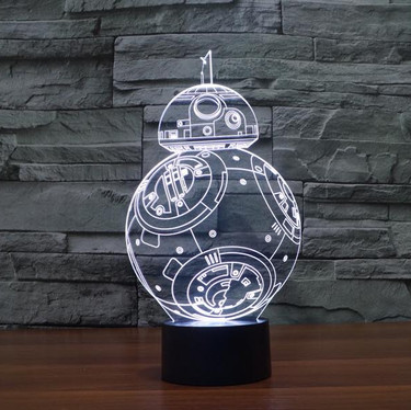 LAMPE STAR WARS - BB8