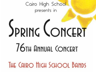 CHS Bands present 76th annual Spring Concert