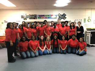 CHS Fine Arts department participates in Eastside Elementary Fine Arts Day