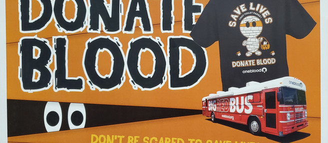 Sign up now for October OneBlood Drive