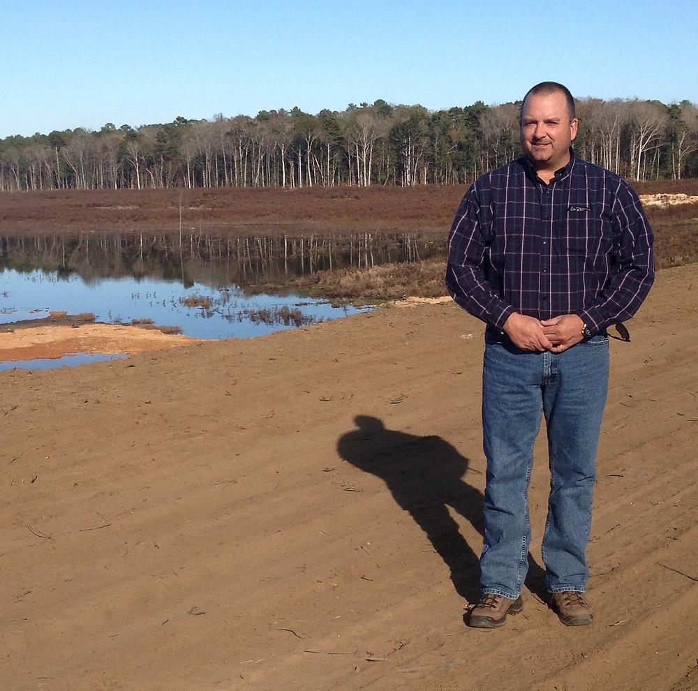 Lake Manager, Mike Binion