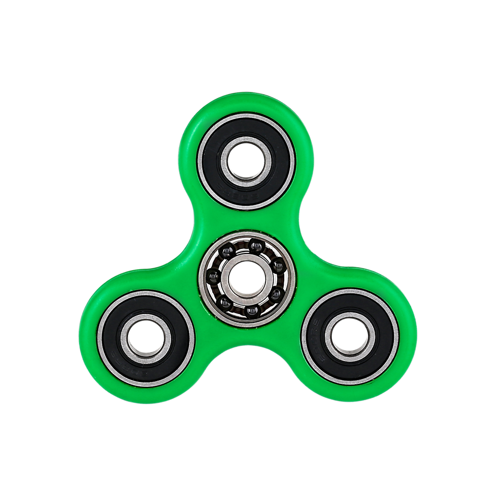 The fidget spinner