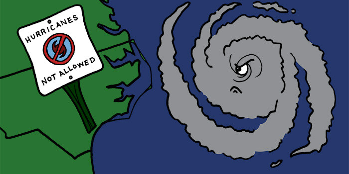 North Carolina Bans Hurricanes
