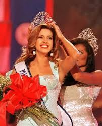 """Former Miss Universe, Alicia Machado, whom Trump irreverantly referred to as """"Miss Piggy"""" and """"Miss Housekeeping"""""""