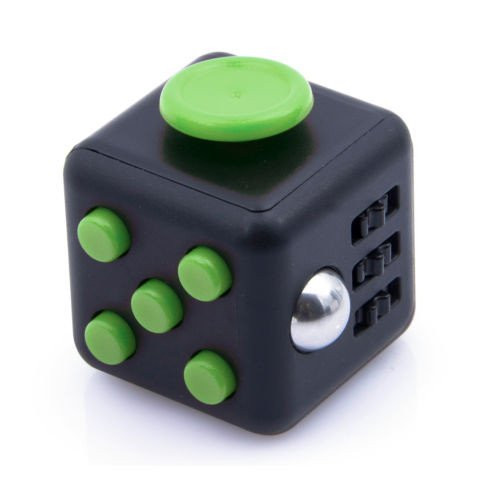 The focus or fidget cube