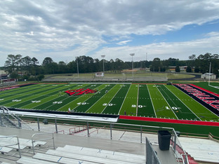 Slideshow: New AstroTurf field installed at CHS