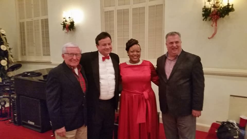 from left to right: Ed Timmerman, Ed Self, Erikka Edwards, and Michael Inlow