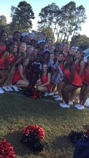 Chs Cheerleading squad