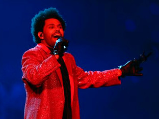 The Weeknd's Super Bowl performance