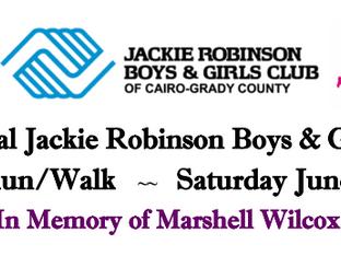 7th Annual Jackie Robinson Boys & Girls Club 5k Run/Walk returns in June