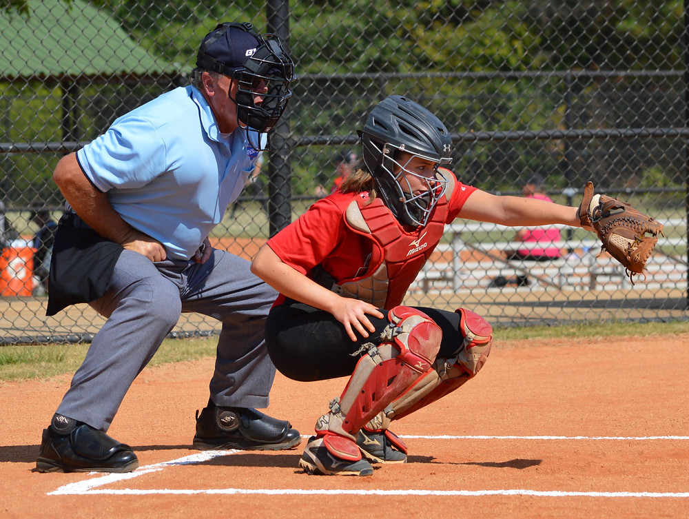 Caitlyn Nowell Catching
