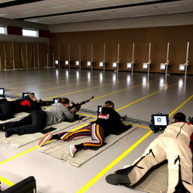 Rifle team begins practice using new electronic scoring system