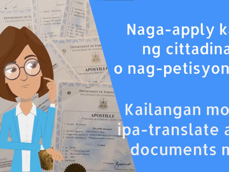 Having you documents translated at FITS is so easy!