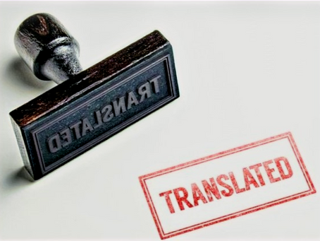 Let's Talk Legalized/Certified Translations