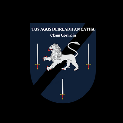 CLANNGORMAIN SINGLE CROSS CREST.png