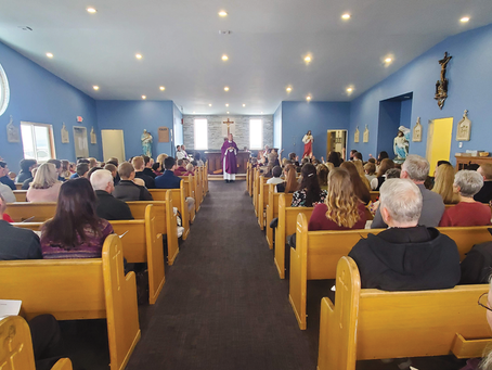 Bishop blesses chapel, classrooms at St. John Bosco Academy