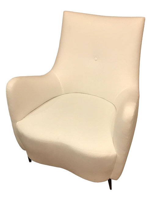 Styled Gio Ponti Lounge Chair