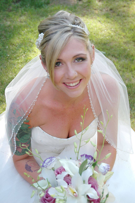 Bridal Hair, bridal hairstyle
