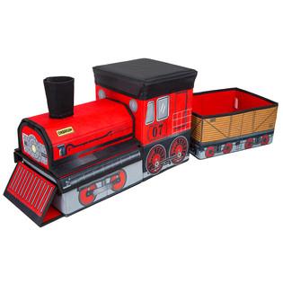 ORBRIUM® Train-Shaped Collapsible Storage Bin Organizer