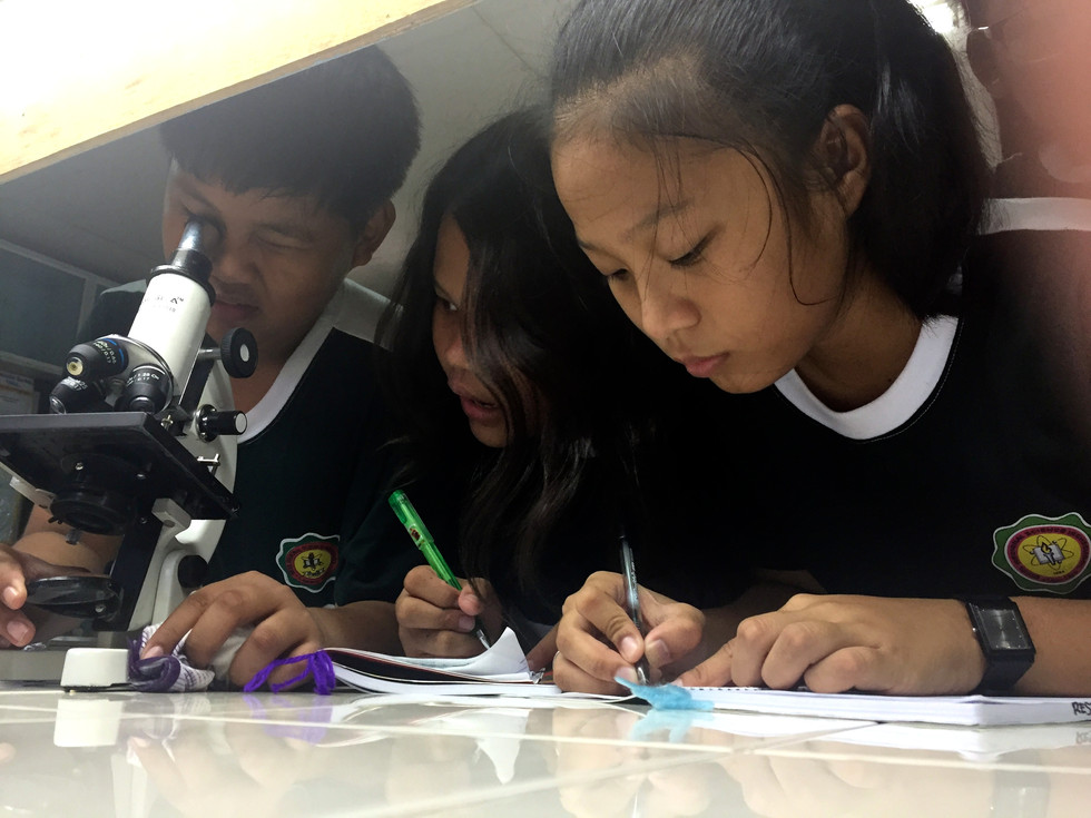 Day 10: Science Classes at Bicol Regional Science High School