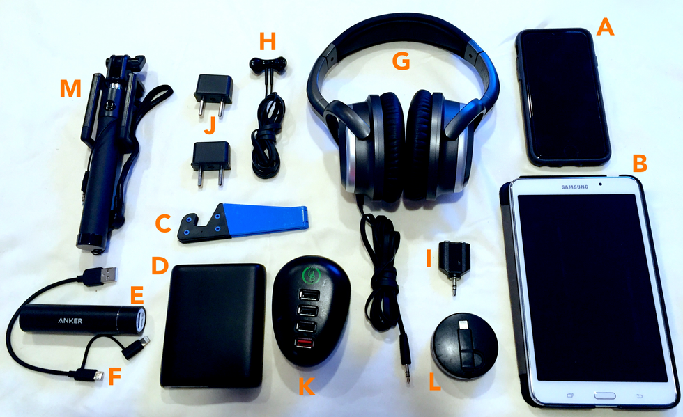 My Favorite Tech Gadgets for Traveling