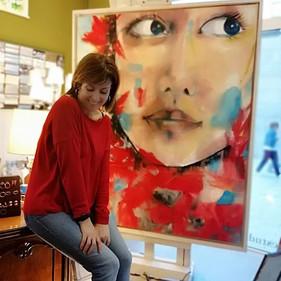 artworking #artworkinprogress #oilpastel